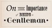 For Gentlemen