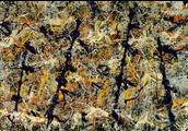 Blue Poles - Jackson Pollock