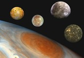 Jupiter's four notable moons