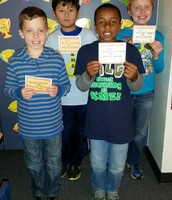 Top Think Through Math Students for the Week!!