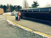 Limo -  So big it didn't fit in the picture!