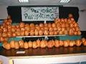 PERIODIC TABLE OF PUMPKINS!
