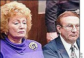 Lionel and Joyce Dahmer at Jeffrey's trial