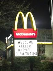 McDonald's Night Spirit Night