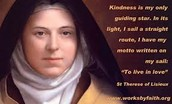 The Quote of St. Therese