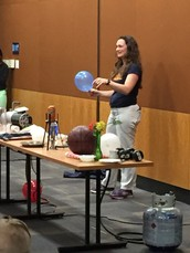 CWMS Physics Demonstration at ASU