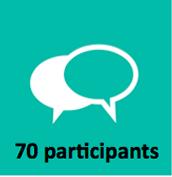 Au total 70 personnes se sont exprimées sur leurs organisations