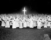 KKK after Chicago welcomed them