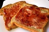 El pan toastado-(tres mil ciento setenta y cinco)(3.175)