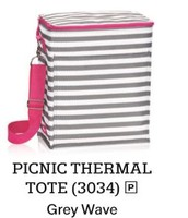 Picnic Thermal in Grey Wave