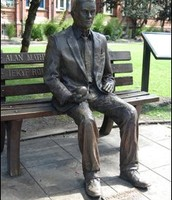 The Statue of Alan Turing!