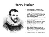 Henry Hudson Bio