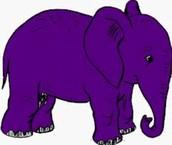 Purple Elephants May Destroy A School