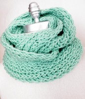 Turquoise Infinity Scarf!