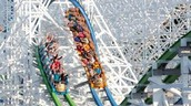 Twisted Colossus in Six Flags Magic Mountain