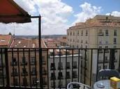 Vistas desde la casa de Granada