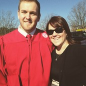 Ms. Johnson and her brother Jake