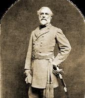 Robert E. Lee with sword