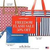 Stella & Dot's FREEDOM Flash Sale!