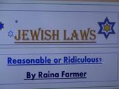 Jewish Laws!