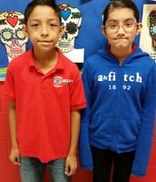 Luis Rodriguez - 4th Grade/ Miah Morales - 5th Grade