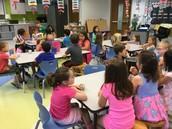Snack with Kindergarten
