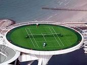 Worlds Tallest Tennis Court