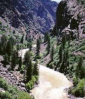 Black Canyon and Gunnison River