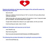 Cold and Flu Season Prevention Tips