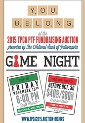 TPCA PTF Auction Update- RSVP by October 30 for Early Bird Pricing!