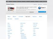 Apple iTunes Layout
