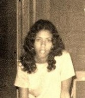 Brenda Woods when she is a teenager.