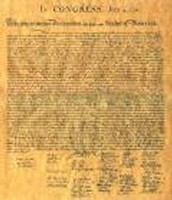Declaration of Independence!