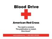 Alpha Phi Omega: Red Cross Blood Drive Tabling