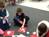 Making heart dogs