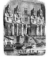 Rough Sketch of Abu Simbel