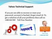 Yahoo help Number 844-410-7597