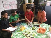 Cooking in Nell and Margrit's Class During Worktime
