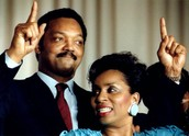 This is Jesse Jackson and jacqueline