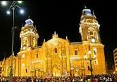 La catedral de Lima.