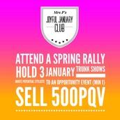 How To Join The Joyful January Club!