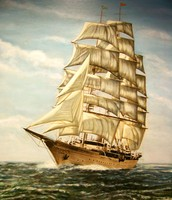 Columbus's ship