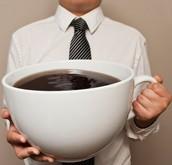 El café  negro o el café con leche y azucar.