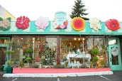 Come to my wickedly awesome flower shop!