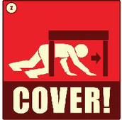 Find a safe place to take cover
