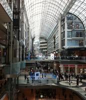 Inside Toronto Eaton Centre