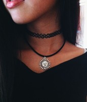 "Here's an example of the more ""modern"" choker"