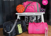 Shop our new Duffle products - available ONLY in April!