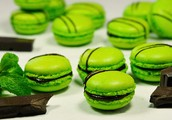 St. Patrick's day  macaroons