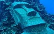 Underwater Moai Head